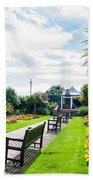 Clacton Pleasure Garden Beach Towel