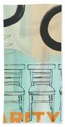Clarity Beach Towel by Linda Woods