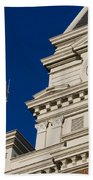 Clarksville Historic Courthouse Beach Towel