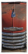Classic 50s Chevy Beach Towel