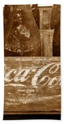 Classic Coke Work B Beach Towel