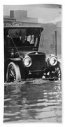 Cleveland: Flood, C1913 Beach Towel