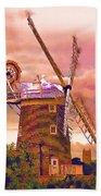 Cley Windmill 2 Beach Towel