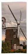 Cley Windmill Beach Towel by Chris Thaxter