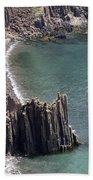 Cliffs At Grand Manan Island, Canada Beach Towel