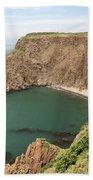 Cliffs On Grand Manan Island Beach Towel
