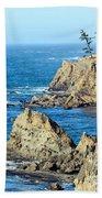 Cliffside Oceanview Beach Towel
