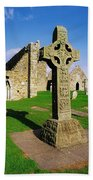 Clonmacnoise, Co Offaly, Ireland High Beach Towel