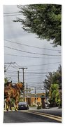 Closed On Sundays 2 - Amish Country Beach Towel