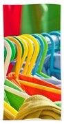 Clothes Hanging Beach Towel