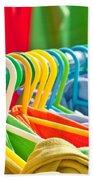 Clothes Hanging Beach Sheet