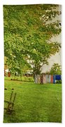 Clothes On The Line Beach Towel