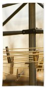 Clothespins On The Line Beach Towel