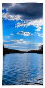Cloud Reflections Beach Towel