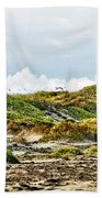Clouds And Dunes Beach Towel