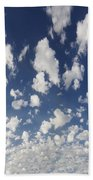 Cloudy Sky Beach Towel
