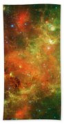 Clusters Of Young Stars In The North Beach Towel