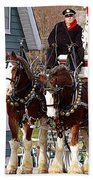 Clydesdales Beach Towel