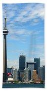 Cn Tower Beach Towel