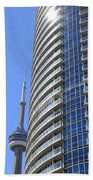 Cn Tower Beach Towel