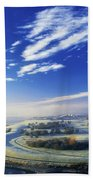Co Derry, Ireland High Angle View Of Beach Towel