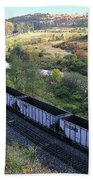 Coal Train - Johnstown  Beach Towel