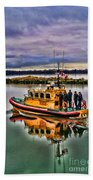 Coastguard Hdr Beach Towel