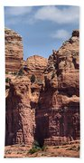 Coffee Pot Rock Formation Beach Towel