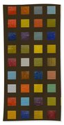 Collage Color Study Lll Beach Towel