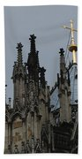 Cologne Cathedral Towers Beach Towel