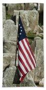 Colonial Cemetery Beach Towel