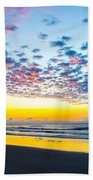 Color In The Sky Beach Towel