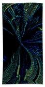 Color Study 02 Green Blue Beach Towel