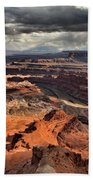 Colorado In The Canyons Beach Towel