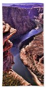 Colorado River At Horseshoe Bend Beach Towel