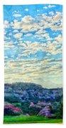Colorado Skies 1 Beach Towel