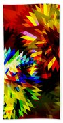 Colorful Blade Beach Towel