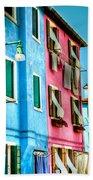 Colorful Burano Beach Towel