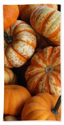 Colorful Gourds Beach Towel