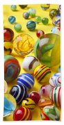 Colorful Marbles Two Beach Towel