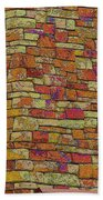 Colorful Stacked Stone Beach Towel