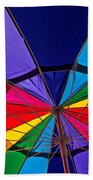 Colorful Umbrella Beach Towel