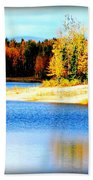 Colors At Chena Beach Towel