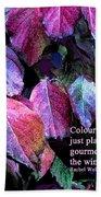 Colour Is Fun Beach Towel