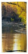 Columbia Bottoms Slough II Beach Towel