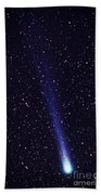 Comet Hyakutake Beach Towel