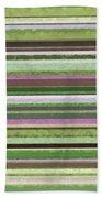 Comfortable Stripes Lv Beach Towel