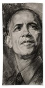 Commander-in-chief Beach Towel by Ylli Haruni
