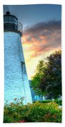 Concord Point Lighthouse 2 Beach Towel