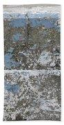 Concrete Blue 1 Beach Towel